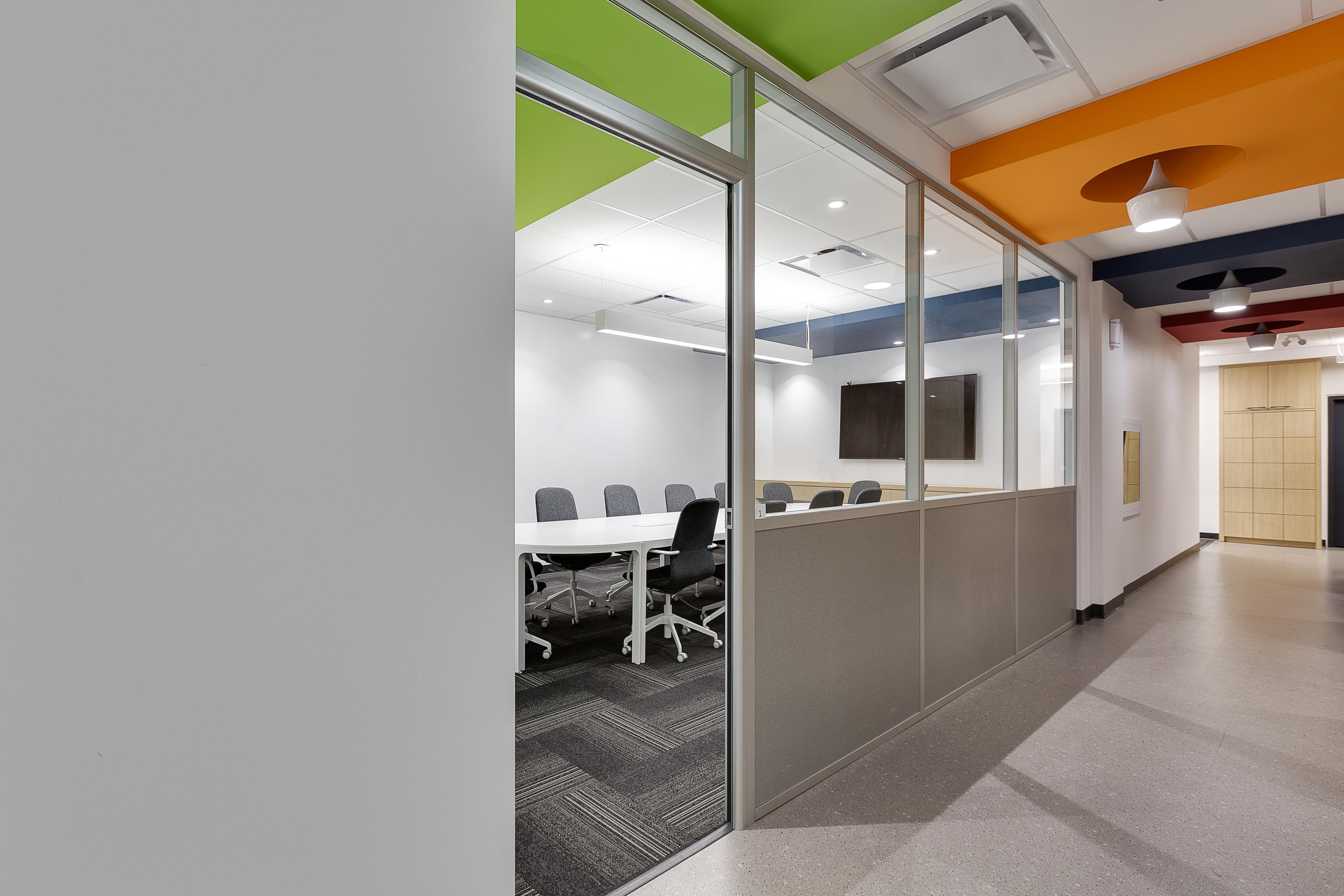bureaux travail espace dynamique moderne solutions, Genius Solutions